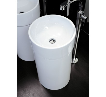 LAVABO COLONNA IN CERAMICA